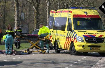 Scholier op fiets van achter geschept door auto