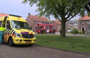 Woningbrand Molenstraat Waalwijk