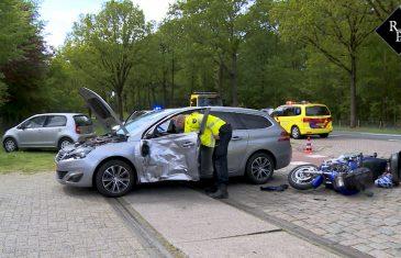 Ongeval auto-motor Vijf Eikenweg Dorst