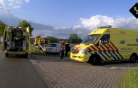Drie kinderen en een volwassene gewond bij aanrijding tussen twee auto's in Haarsteeg