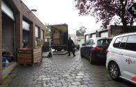 Garageboxen vol met spullen voor hennepteelt