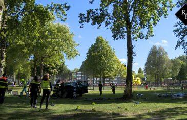 Drie gewonden bij ernstig ongeval Ambrosiusweg Waalwijk