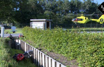 Motorrijder zwaargewond bij ongeluk Heibloemstraat De Moer