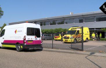 Man zwaargewond bij bedrijfsongeval in Den Bosch