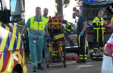 Jonge vrouw en drie kinderen gewond bij ongeluk in Sprang-Capelle
