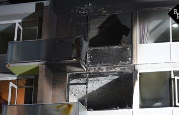 Uitslaande brand flatwoning Sint Hubertusstraat Tilburg