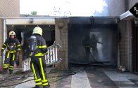 Garage brand volledig uit Vivaldistraat Waalwijk