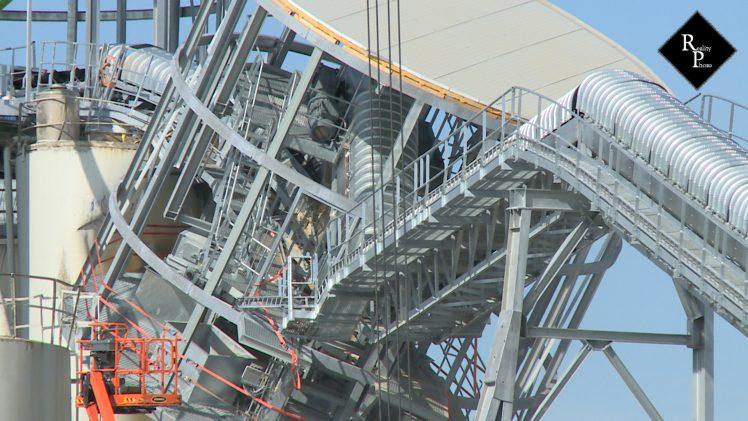Miljoenenschade door instorten nieuwe betonsilo Bruil Geertruidenberg