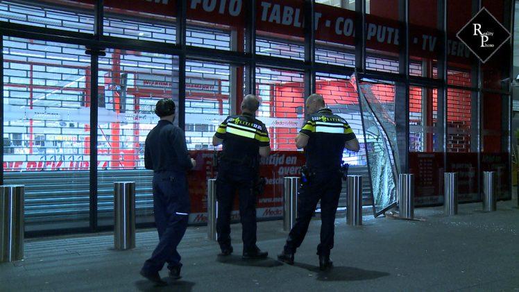 Ramkraak Media Markt Den Bosch