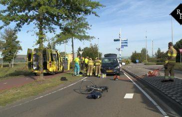 Fietser gewond na aanrijding met auto Lipsstraat Drunen