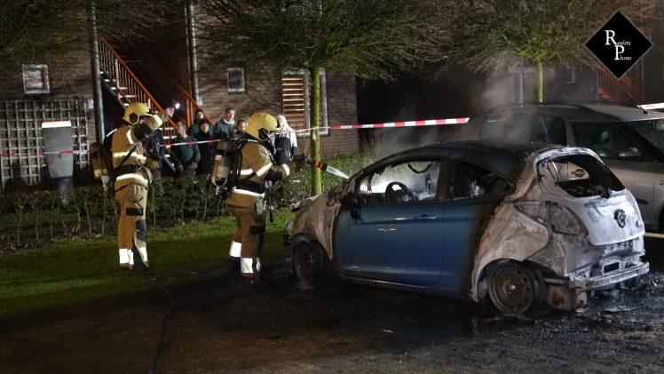 Derde brand in drie dagen Paul Vlemmincxstraat Helvoirt