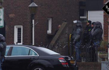 Arrestatieteam probeert tot 15 jaar veroordeelde Joey D. aan te houden in Rosmalen