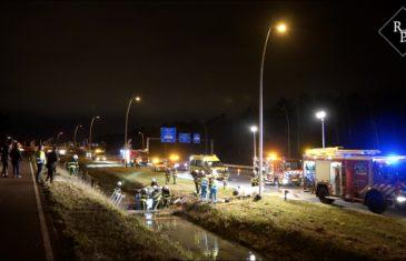 Ongeval Midden-Brabantweg N261 Kaatsheuvel