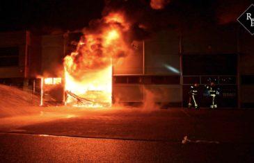 Uitslaande brand bij RMR Interieurbouw