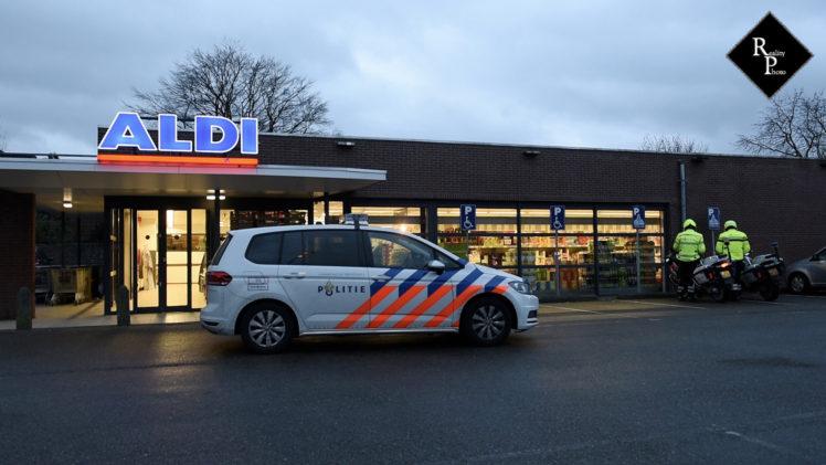 Gewapende overval op Aldi in Hilvarenbeek