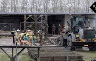 Stellage stort in tijdens oefening militairen