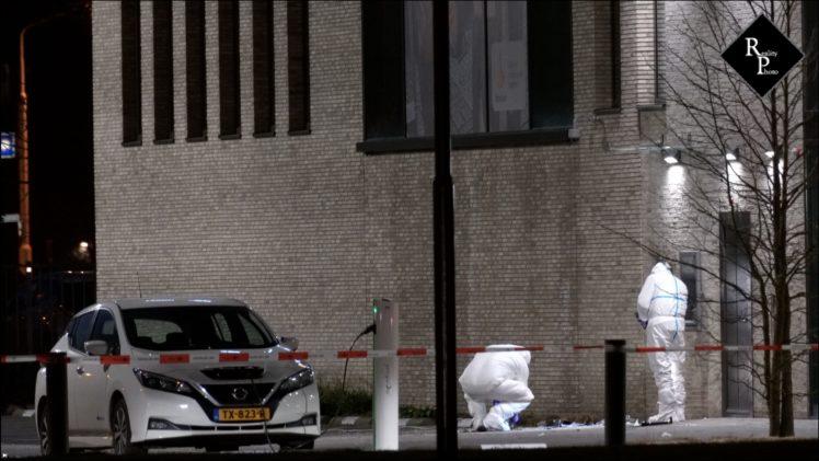 Plofkraak op afstortkluis Rabobank Taxandriaweg Waalwijk