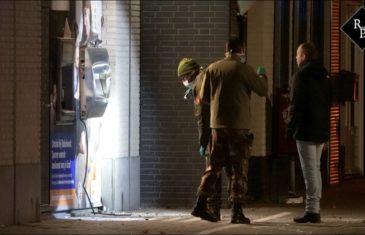 EOD doet onderzoek na plofkraak op afstortkluis Rabobank Kaatsheuvel