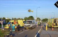 20-jarige fietser overleden na botsing met bestelbus Taxandriaweg Waalwijk