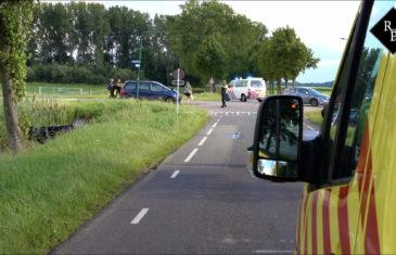 Ernstig ongeval op de kruising Duijlweg - Midgraaf in Almkerk