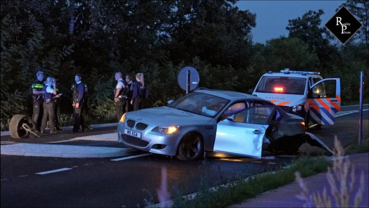 Achtervolging in Tilburg eindigt met crash in Ravels België