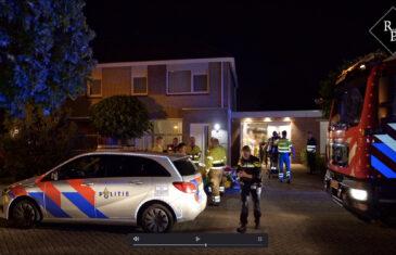 Twee personen gewond na bijvullen vuurschaal De Maashoven Nieuwkuijk